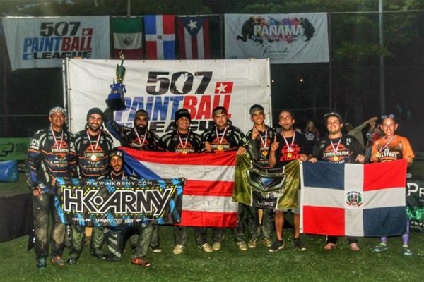 Caribbean All Starz, Campeón Torneo Internacional De Paintball