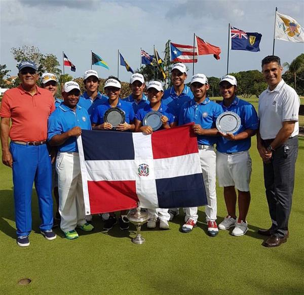 Selección de Golf de RD que ganó la Hoerman Cup en el 2017.jpg