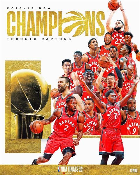 Toronto Raptors Logran Primer Titulo De La Nba