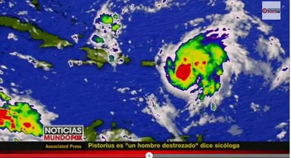 Tormenta Tropical 'Gonzalo' Amenaza Con Convertirse En Huracán
