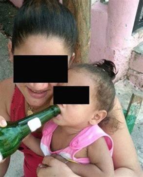 3 Meses De Prisión A Madre Que Colgó Foto En Facebook Dándole Cerveza A Su Bebé