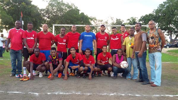 Club De Futbol Cesar Rijo Celebra Cuadrangular Amistoso