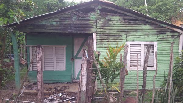 Incendio Afecta Una Vivienda En El Barrio La Mina