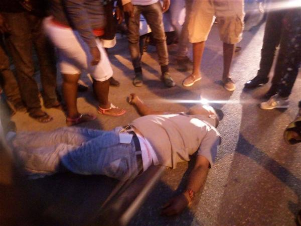 Un Muerto Y Un Herido En Accidente De Transito En San Pedro