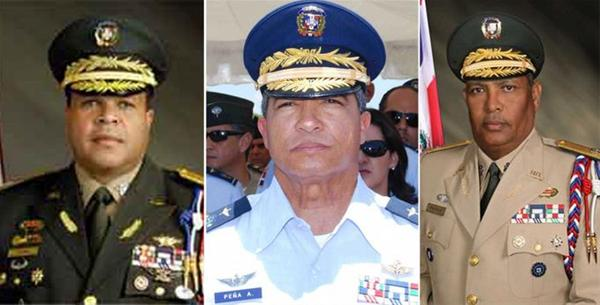 Retiran A 3 Exjefes De Las Fuerzas Armadas