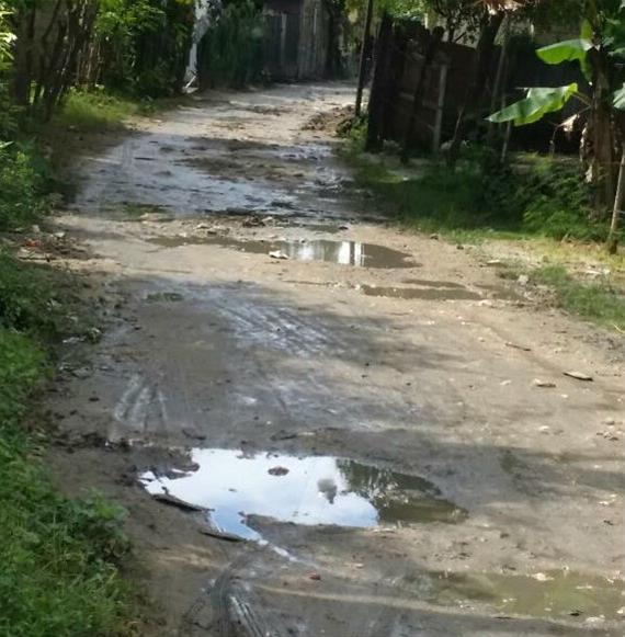 Denuncian Mal Estado En Calles De El Cachispero