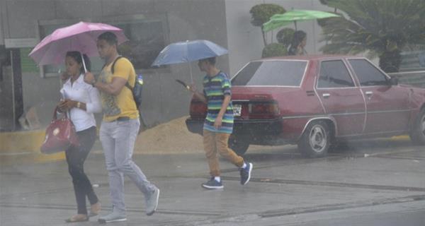 Lluvias Débiles Y Dispersas Dominan El Clima