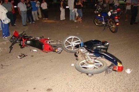 Cinco Heridos En Choque De Dos Motocicletas