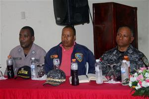 Director Regional Sureste Policía Se Reúne Con Autoridades Y Comunitarios