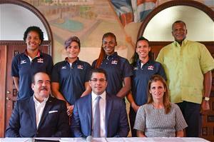 Collado Presenta Copa Panamericana De Voleibol