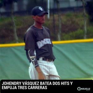 Johendry Vásquez Batea Dos Hits Y Empuja Tres Carreras
