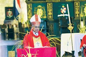 Arzobispo Ozoria Advierte El País Podría Caer En Una Dictadura