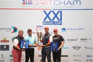 Cesar Rodríguez Y Marcel Olivares Ganadores Royal Cup, En Su Xxi Version
