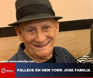 Fallece En New York Jose Familia