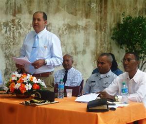 Nuevas Autoridades Del Hospital Angel Ponce Realizan Encuentro