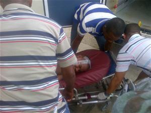Hombre Sufre Golpes Tras Chocar Motocicleta Con Un Caballo