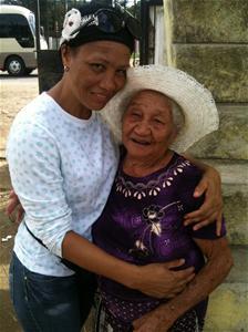 Doña Ana González Se Siente Feliz A Sus 105 Años