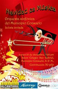 Sinfónica De Consuelo Realizara Concierto Navideño