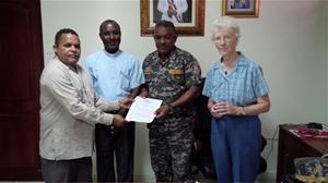 Comisión Realiza Visita Al General Pablo Almonte Morales