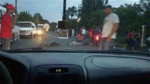 Mueren Tres Personas En Accidente; Choque De Motores