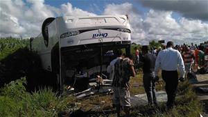 Varios Turistas Heridos Al Accidentarse Autobús