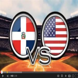 REPUBLICA DOMINICANA VS ESTADOS UNIDOS